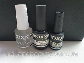 Набір База Оксі Oxxi 15 ml + Топ Oxxi No wipe (без липкого шару) 10 ml + Ultrabond Oxxi 15 ml