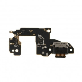 Нижняя плата Huawei P30 Dual Sim ELE-L29 с разъемом зарядки, с микрофоном, USB Type-C