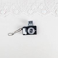 Миниатюра Фотоаппарат со Вспышкой 4*2 см ЧЕРНЫЙ