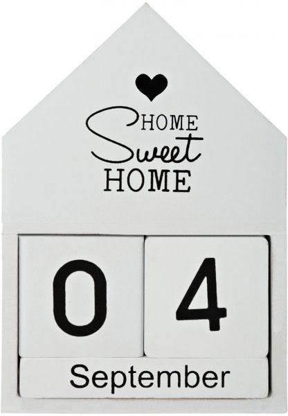 Вечный календарь 16*12 см, Home