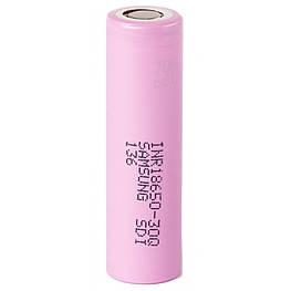 Аккумулятор мощный 18650 Samsung INR 18650-30Q 3000mah 3,7V высокотоковый (25А) без защиты