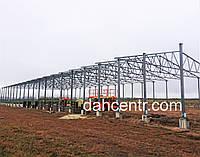 Ангар 20х72х5 склад, каркас, 1440 кв.м. новий, металоконструкція
