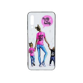Женский чехол для Samsung Galaxy A50 A505FD силиконовый Girl Case, Mom Life