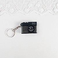 Миниатюра Фотоаппарат Серебро 4 см ЧЕРНЫЙ