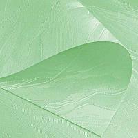 Рулонные шторы Woda. Тканевые ролеты Вода (Дюна) Салатовый 2073, 102.5