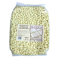 Воск Beauty Hall гипоаллергенный (1 кг) WHITE