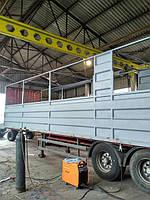 Доработка бортов грузового автомобиля по индивидуальным заказам