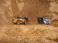 Песок речной в Вышгороде с доставкой- от 5т