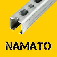 Профиль монтажный перфорированный  Т20 (30х20), (1.0mm)