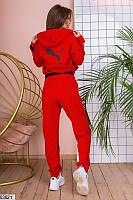 Костюм женский ,костюм женский спортивный двунить, красный спортивный костюм,спортивные костюстюмы,
