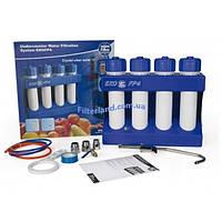 Четырёхступенчатая система фильтрации под кухонную мойку