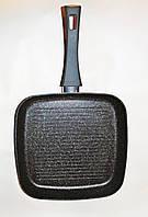 Сковорода-гриль Gusto GT-2304-28 c покрытиеv Marble 28х28 cм, фото 1