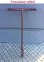 Культиватор корнеудалитель ручной Штопор (усиленный) - принцип обработки земли novato, землероб, торнадо