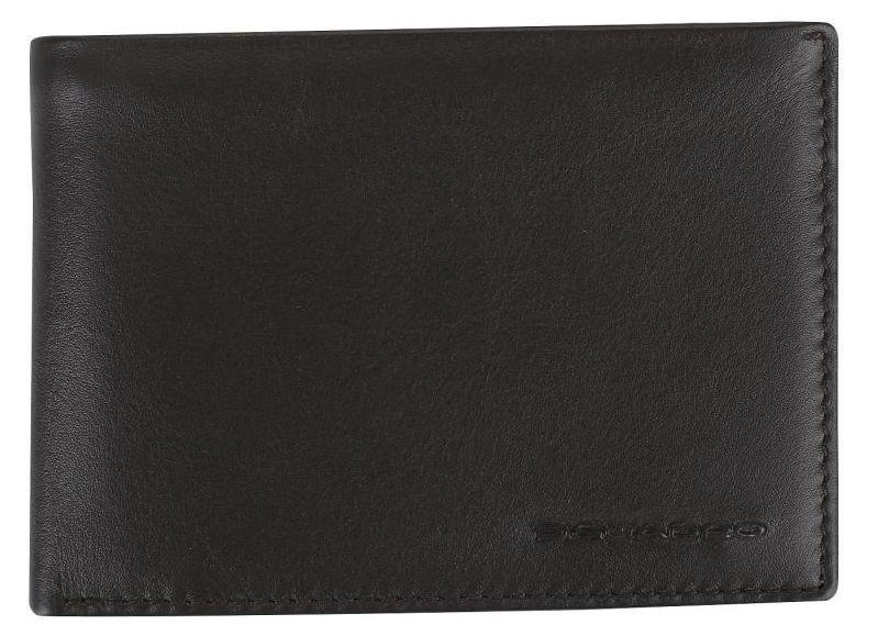 Мужское портмоне Piquadro Tag темно коричневый