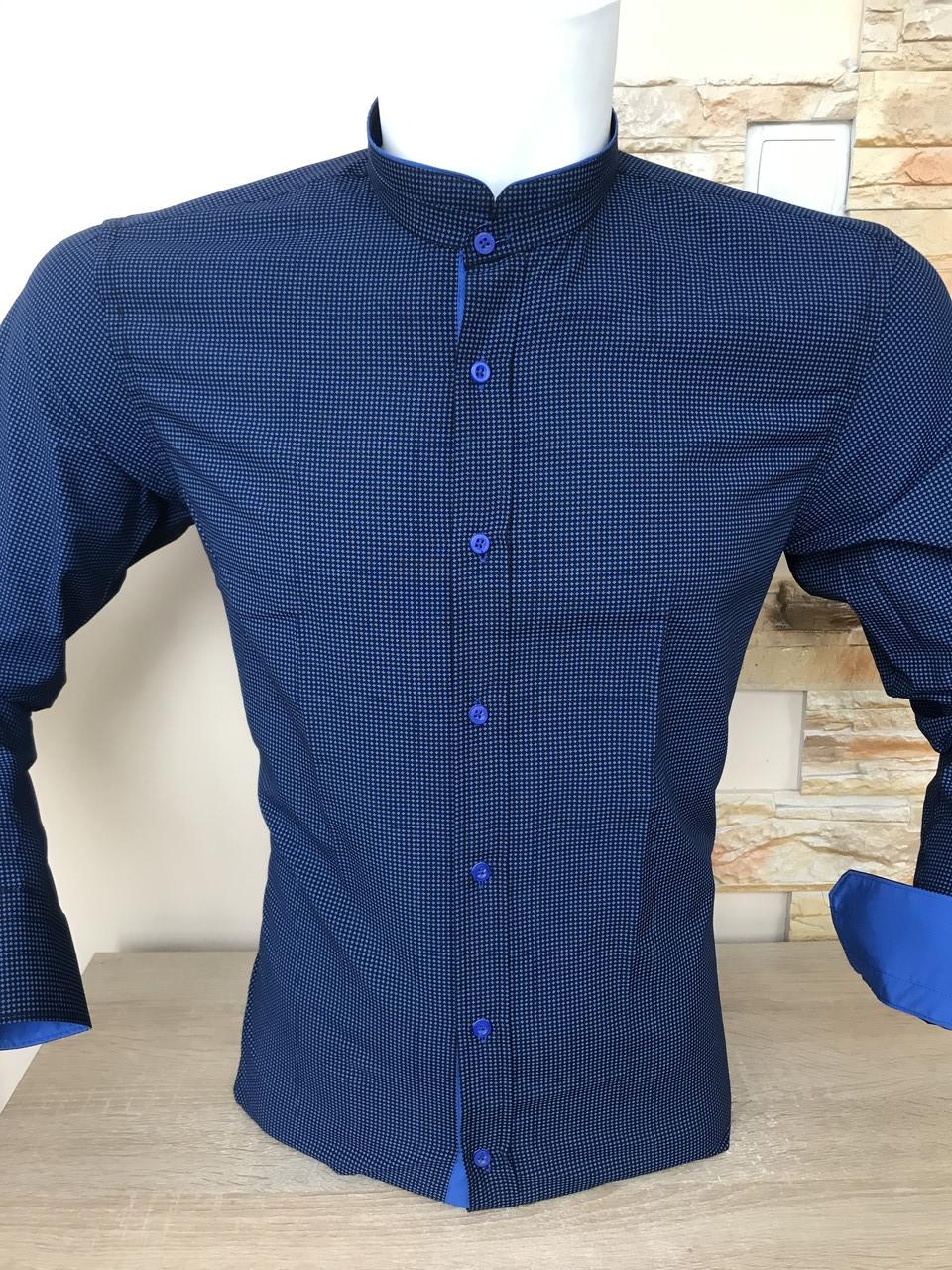 Сорочка Fiorenzo з коміром-стійка
