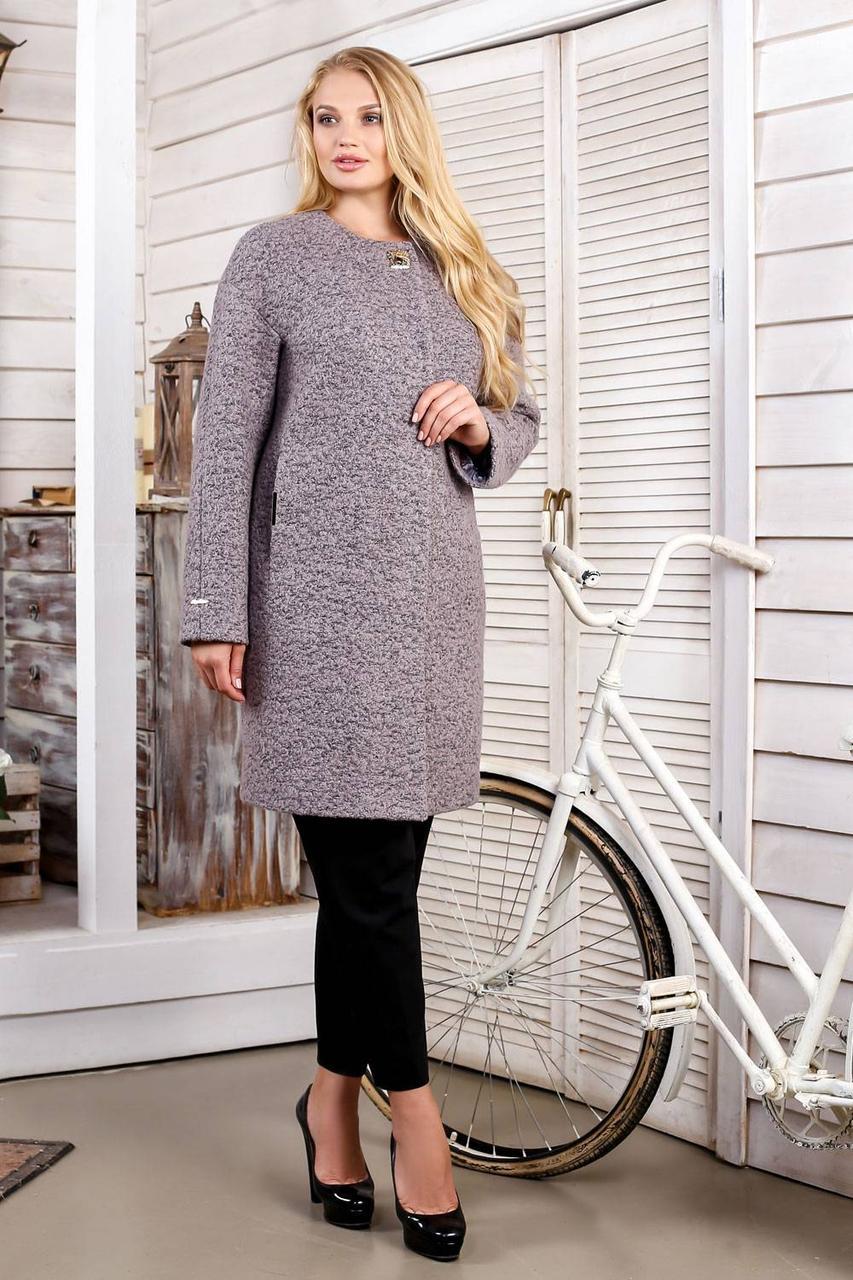 Женское Пальто В-1018 W09+BND Тон 48 Favoritti