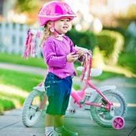 Дитячі велосипедні шоломи