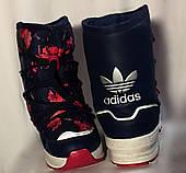 Зимние детские сапоги, сноубутсы Adidas senia boot, размер 34(21)
