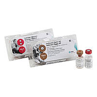 Нобівак Puppy DP 1 доза -вакцина проти чуми м'ясоїдних і парвовирусного ентериту з розчинником для собак