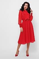 Романтичное шифоновое платье Размеры S, M, L, XL, фото 3