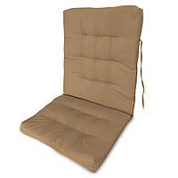 Матрас на кресло Кедр на Ливане Уют большой серия Color Big 100x50x7 Бежевый