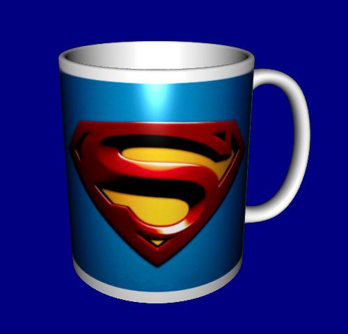 Кружка / чашка Супермен