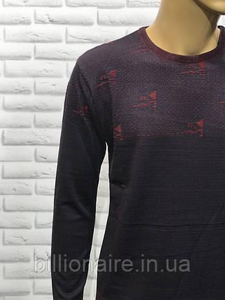 Чоловічий приталений светр, фото 2