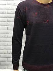 Чоловічий приталений светр, фото 3