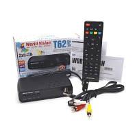 Цифровой эфирный DVB-T2 приемник World Vision T62D2