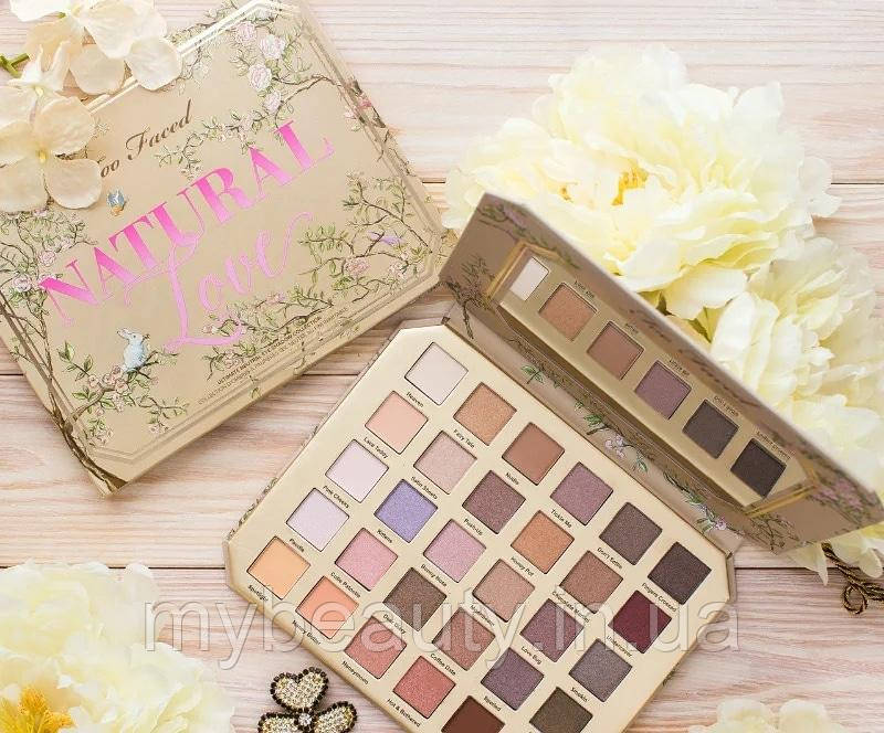 Палетка теней Too Faced Natural Love Ultimate Eyeshadow Palette T30