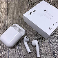 Беспроводные наушники i9P-TWS Bluetooth, гарнитура аналог AirPods, фото 4