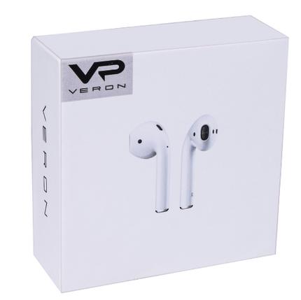 Блютуз наушники VR Veron (VR-01) Bluetooth. Блютуз наушники Bluetooth TWS гаринутура оранжевая, фото 2