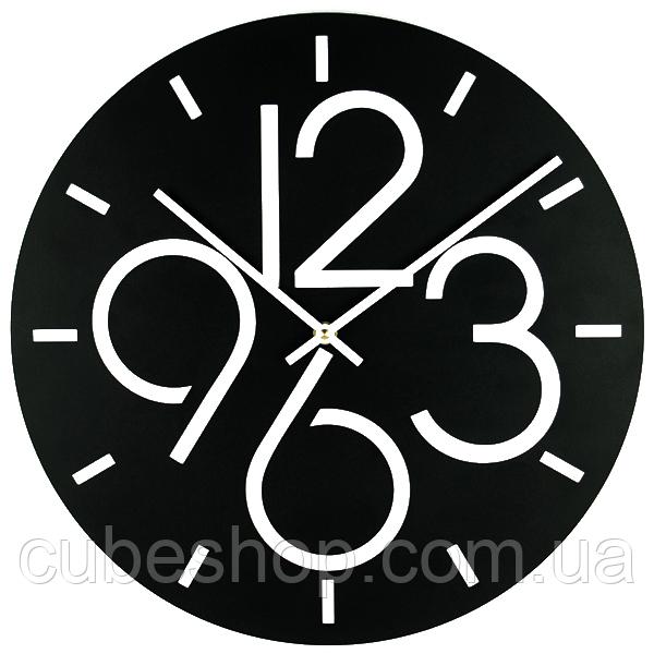 Металлические настенные часы Dublin(черный)