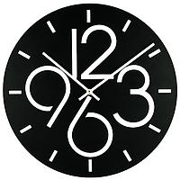 Металлические настенные часы Dublin (черный)
