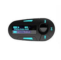 ФМ модулятор FM трансмиттер авто MP3 HLV FM-06 Blue