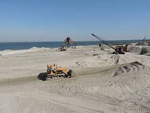 Пісок річковий, митий (середньозернистий)