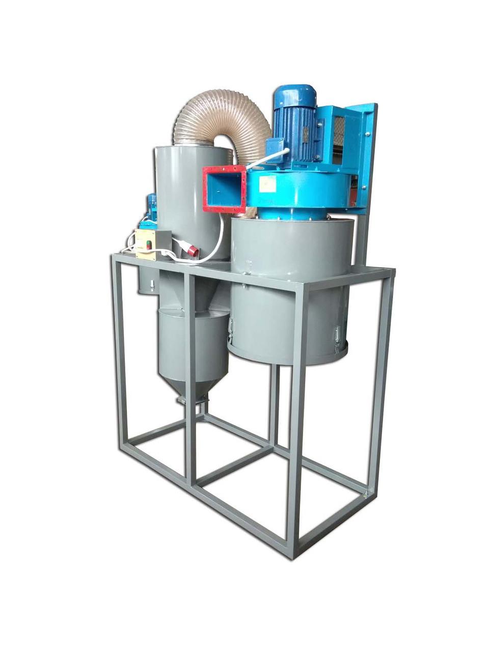 Промышленная система аспирации для металлообработки | аспирация металлической стружки PsTech
