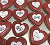 Пряники сердечки з логотипом, фото 2