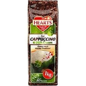 Капучино растворимый Hearts Irish Cream (Айриш крем), 1кг Напиток кофейный растворимый