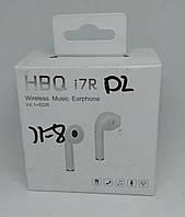 Беспроводной Bluetooth наушник HBQ i7 R одно ухо black