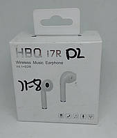 Беспроводной Bluetooth наушник HBQ i7 R одно ухо white