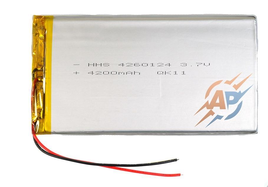 Аккумулятор 4200mAh 3.7v 4264124 Li-Ion  для планшетов