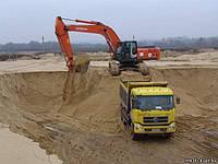 Песок образный в Рожнах( Киевская обл) с доставкой- от 5т