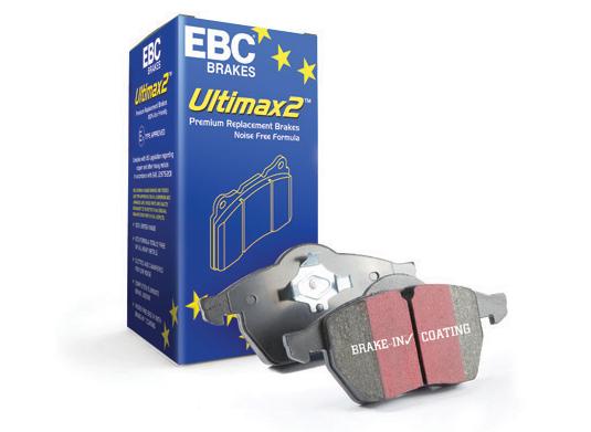Колодки гальмівні передні EBC ULTIMAX DP1790 для Toyota camry 40; 50 D1293