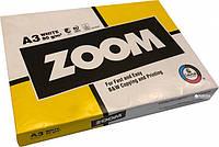 Бумага офисная Zoom А3 80 г/м2 класс С 500 листов Белая