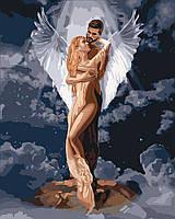 Живопись по номерам Идейка Ты мой ангел (KHO4665) 40 х 50 см (Без коробки)