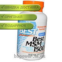 Для суставов и связок Doctor's BEST Best MSM 1500 120 таблеток