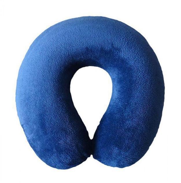 Дорожная подушка под шею для путешествий Memory Foam Travel Pillow