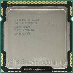 Процессор Intel Pentium G6950 (2)x3.2GHz 3mb cache s1156