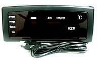 Настольные электронные LED часы 909-А (календарь, температура, будильник), фото 6